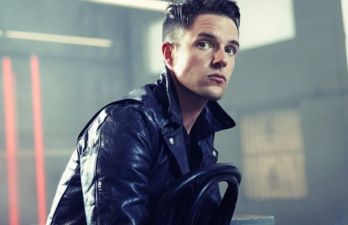 so disgustingly in love with brandon flowers.