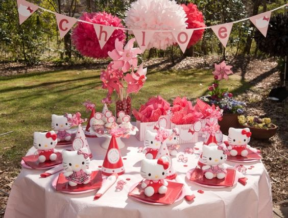 Hello Kitty Birthday Party- pictures only
