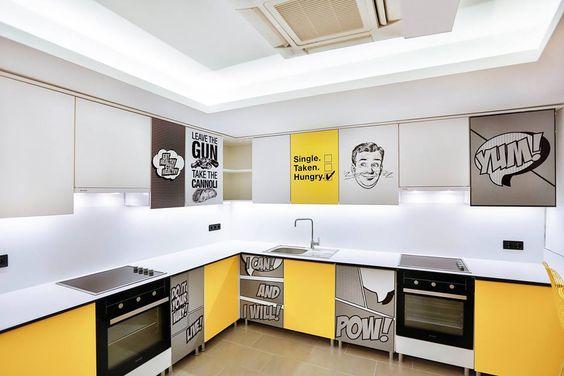 dormitory kitchen_ kitchen design and ideas #rendahelindesign #rendahelin #decor #decoration #interior #interiordesign #hobby #kitchen #retro #konforist #dorm #male #project