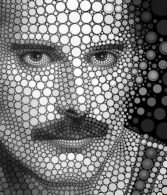 Freddie Mercury by Ben Heine, via Flickr