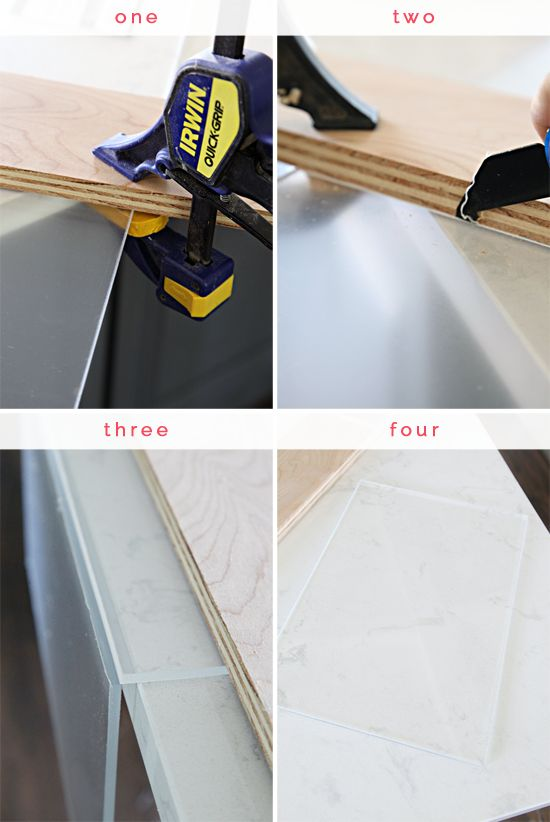 DIY Brass Handle Marble Tray (an easy High/Low project!)  IHeart Organizing