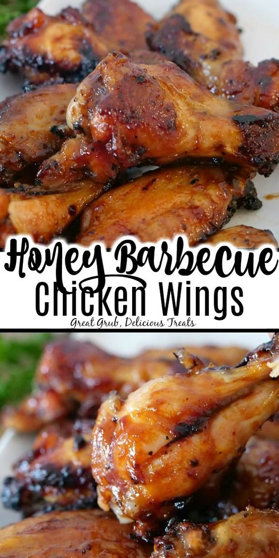 Honey Barbecue Chicken Wings