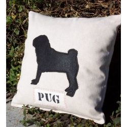 Can never have too many pug pillows