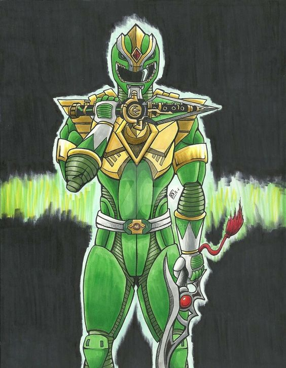 MMPR 20th Anniversary: Green Ranger:Movie Edition #Art by: BS--COMICS #∆∆shani