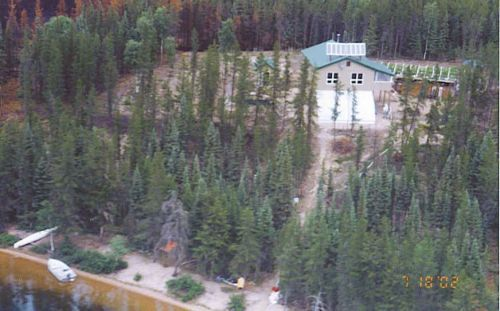 Northern Saskatchewan Wilderness Home For Sale Float Plane Only