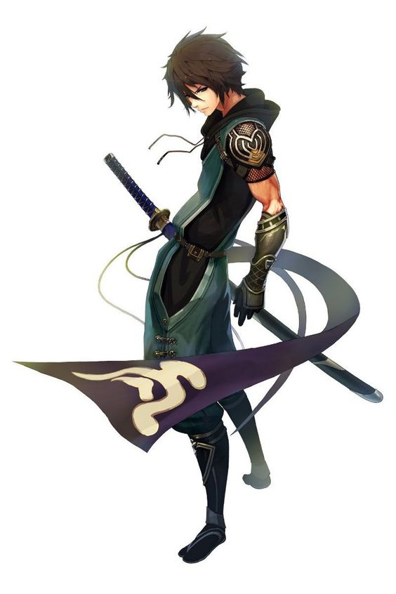 Samurai Anime Characters : Shiro age unknown is a warrior for the chi empire