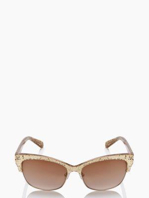 shira glitter sunglasses