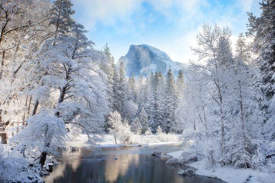 Yosemite in Winter: