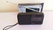 Sony fm / am radio icf-390