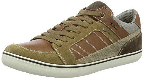 Geox U Box F, Zapatillas para Hombre, Marrón (Desert/cognacc5l6n), 43 EU