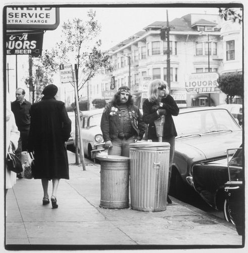 Pigpen and Lesh in the Haight. #gratefuldead