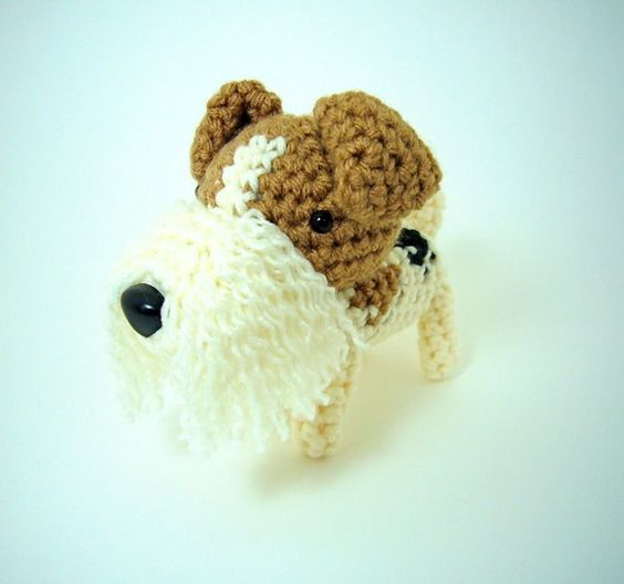 Amigurumi Wire : Fox terriers, Handmade and Wire on Pinterest