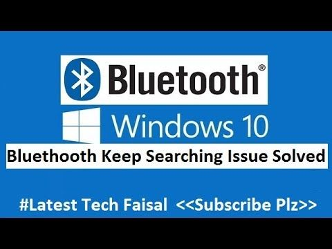 Fix Bluetooth Not Showing In Device Manager Icon Missing In Windows 10 8 7 Windows 10 Windows Bluetooth