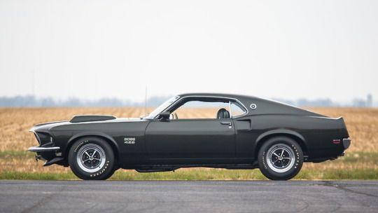 1969 Ford Mustang Boss 429 Fastback Mustang Ford Avtomobil