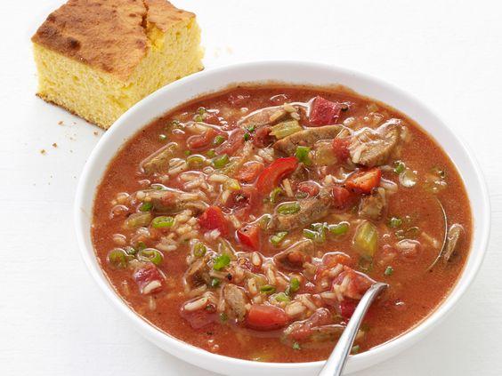 Jambalaya Soup Recipe : Food Network Kitchen : Food Network - FoodNetwork.com