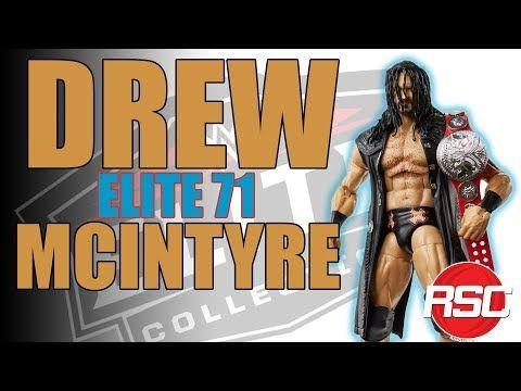 Drew Mcintyre Wwe Elite 71 Wwe Toy Wrestling Action Figure By Mattel Wwe Elite Drew Mcintyre Wwe