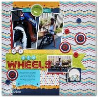 A Project by mommy2blueeyes from our Scrapbooking Gallery originally submitted 01/26/13 at 10:23 AM