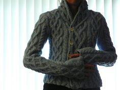 Fireside Sweater pattern.