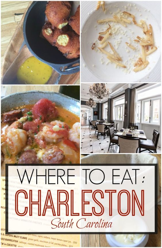 Best Places to Eat in Charleston, South Carolina