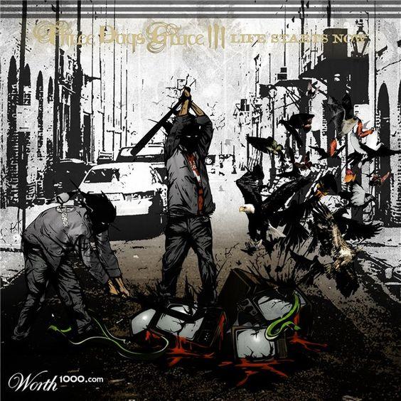 Three Days Grace Album Cover Mash-Up!