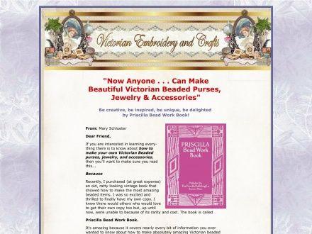Priscilla Bead Work Book; Victorian Beaded Purses, Jewelry & More!