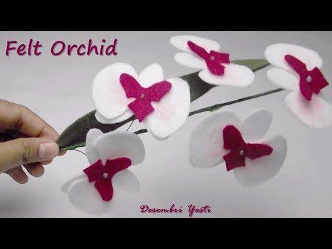 Orquidea Anggrek Kerajinan Kain Flanel Kain Flanel