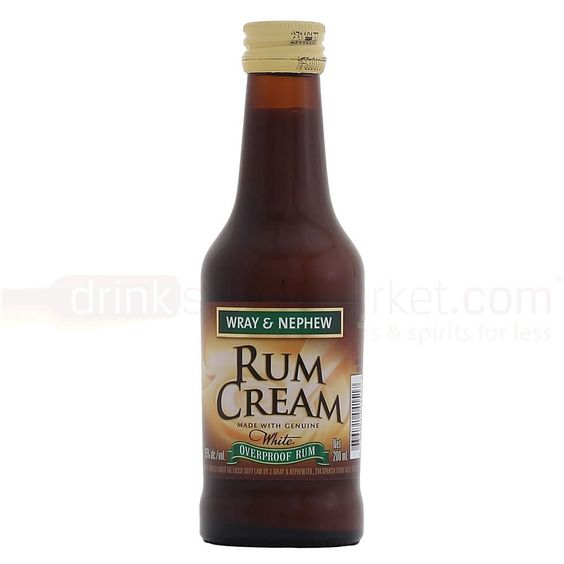 Wray & Nephew Rum Cream - Jamaican Premium Blended Aged Rum Cream liqueur. Tasted this in Jamaica--wish I could find it at home.