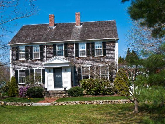 Cape Cod Style Homes Shingle Siding Home And Cape Cod