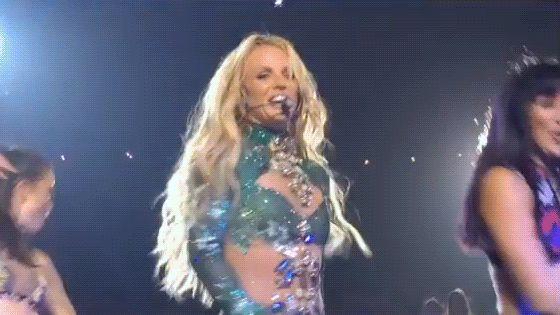 """""""Me sinto tão orgulhosa por ter você em Vegas"""", diz Britney ao dançarino Brandon Bryant – X-Britney.com.br"""