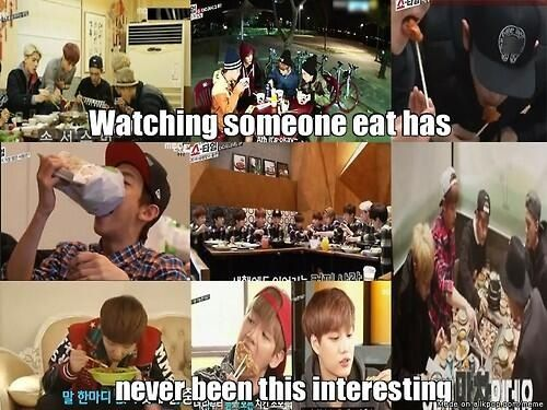 ♡EXO SHOWTIME I know right:)
