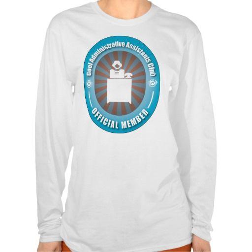 Cool Administrative Assistants Club T Shirt, Hoodie Sweatshirt