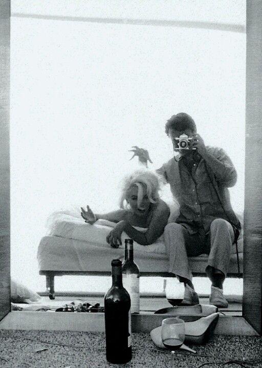 Marilyn Monroe and James dean 1962 photo shoot Like and Repin. Noelito Flow instagram http://www.instagram.com/noelitoflow