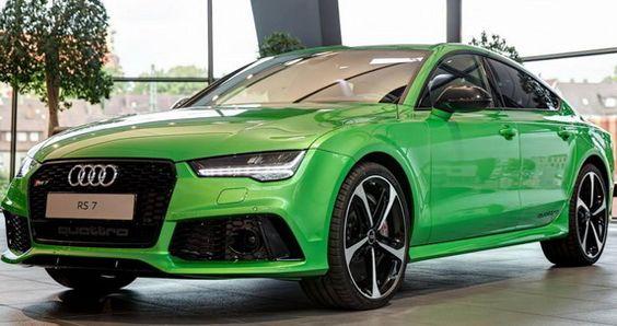 Audi RS7 Sportback Apple Green