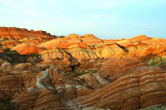 Danxia Landform  丹霞地貌 by Melinda ^..^, via Flickr