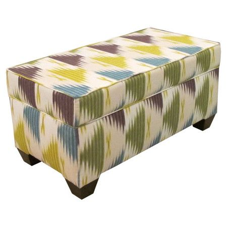 I pinned this Maggie Storage Bench in Manisa Emerald from the Skyline event at Joss and Main!