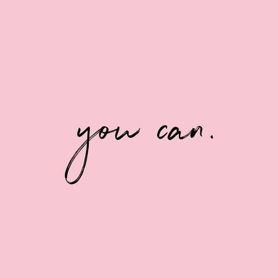 Inspiring quote of encouragement: you can. #quote #encouragement