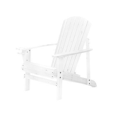 Found it at Wayfair - Natural Wood Adirondack Chair