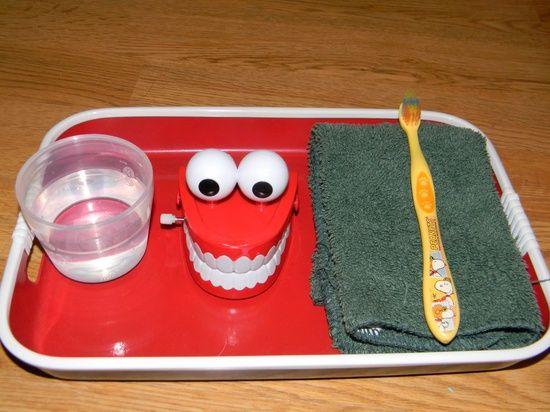 practical life tray ideas: