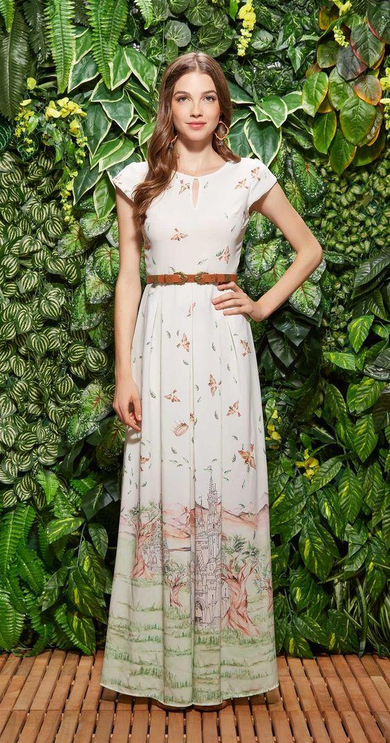 Só na Antix Store você encontra Vestido Longo Encantada com exclusividade na internet: