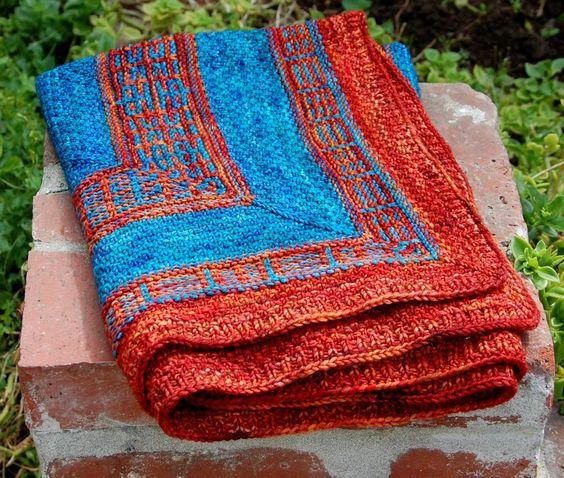 (6) Name: 'Knitting : everlasting baby blanket