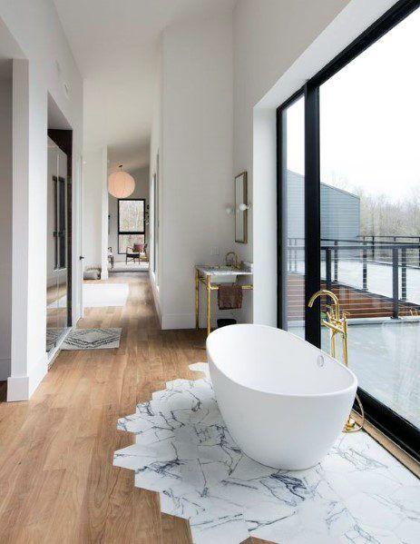 Top 70 Best Tile To Wood Floor Transition Ideas Flooring Designs Beautiful Flooring Home Decor Trends Home Top idea wooden floor bathroom