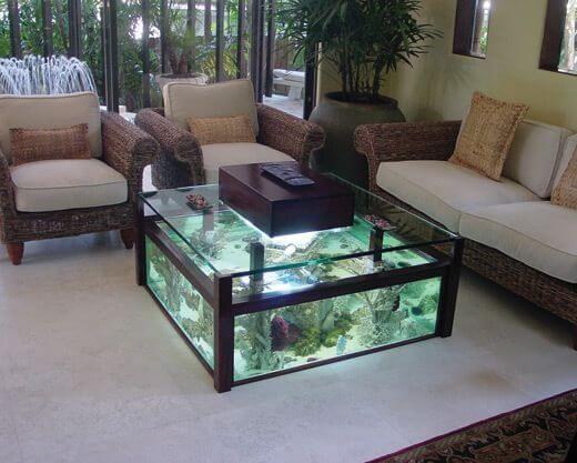 21 Stunning Home Aquarium Ideas Aquarium Coffee Table Glass Fish Tanks Fish Tank Coffee Table