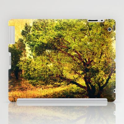 The Sun,The Wind,and The Tree. iPad Case by Katayoon Photography - $60.00