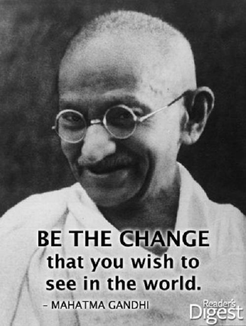 a look at the life of mohandas gandhi 10 lessons we can learn from mahatma gandhi mahatma gandhi's life inspired many who saw great lessons in so take a good look at the man or woman in the.