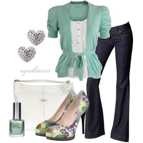 Minty, created by cynthia335 on Polyvore