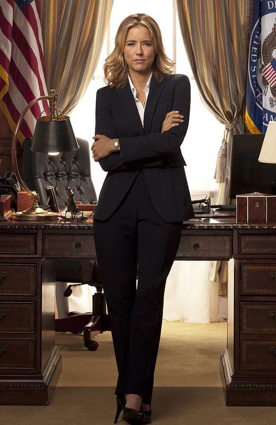 More TV success ... Madam Secretary star Tea Leoni.