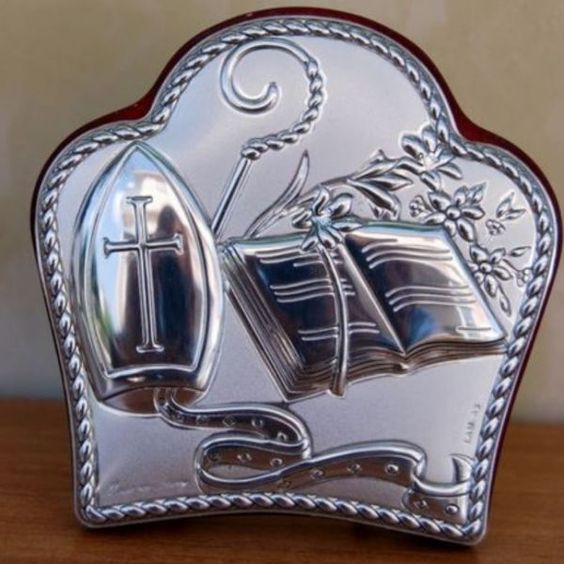 Italian Argento Silver First Confirmation Communion Favors