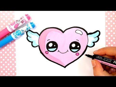 Youtube Cute Easy Drawings Kawaii Drawings Easy Drawings
