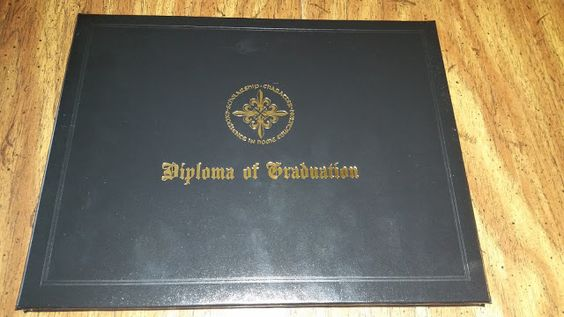 If we are going to talk homeschool diplomas, the Exclusive High School Diploma is what I would call the top of the line. With this diploma your school name is arched and shaded at the top, and you are able to add a bible verse or motto. It is professionally printed, and you also get to choose which signature line title that you want.