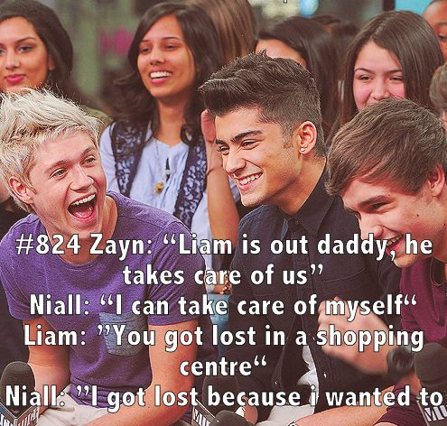 Niall: I got lost because I wanted to lol <3